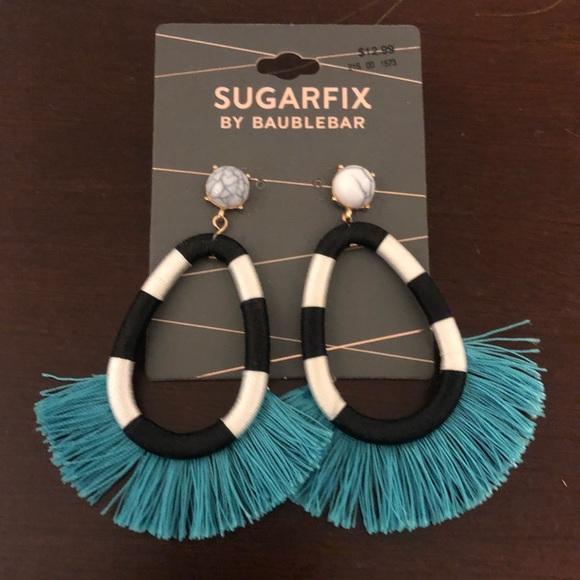 fd0b052252b86 SugarFix by Bauble Bar Target Statement Earrings NWT